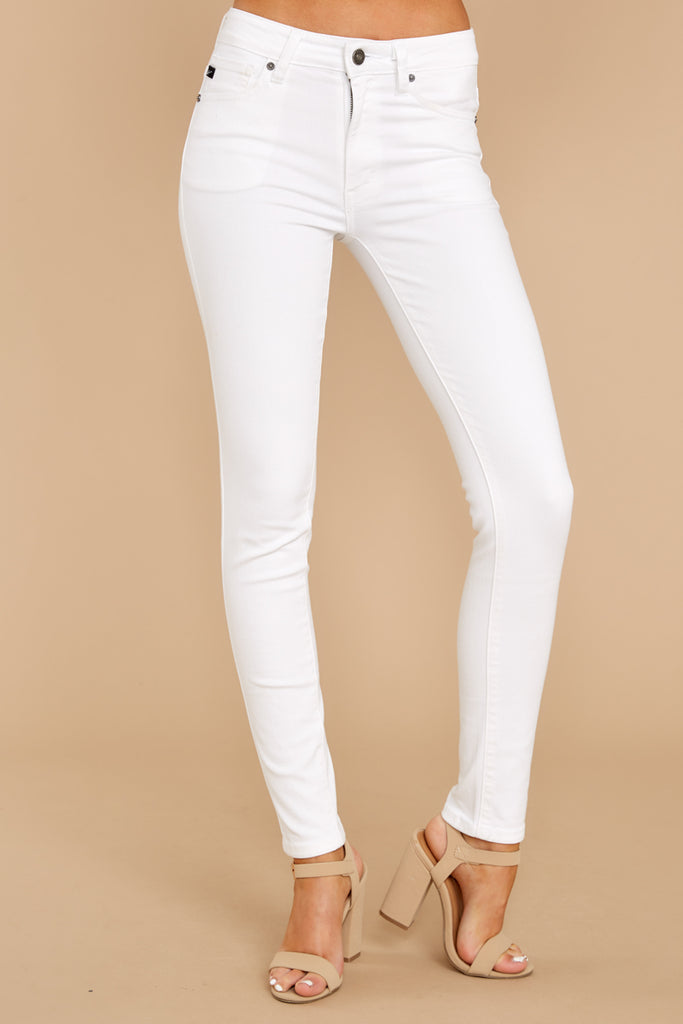 New Idea White Skinny Jeans