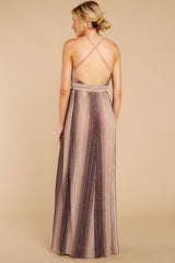 6 Throw Me A Kiss Mauve Multi Maxi Dress at reddressboutique.com