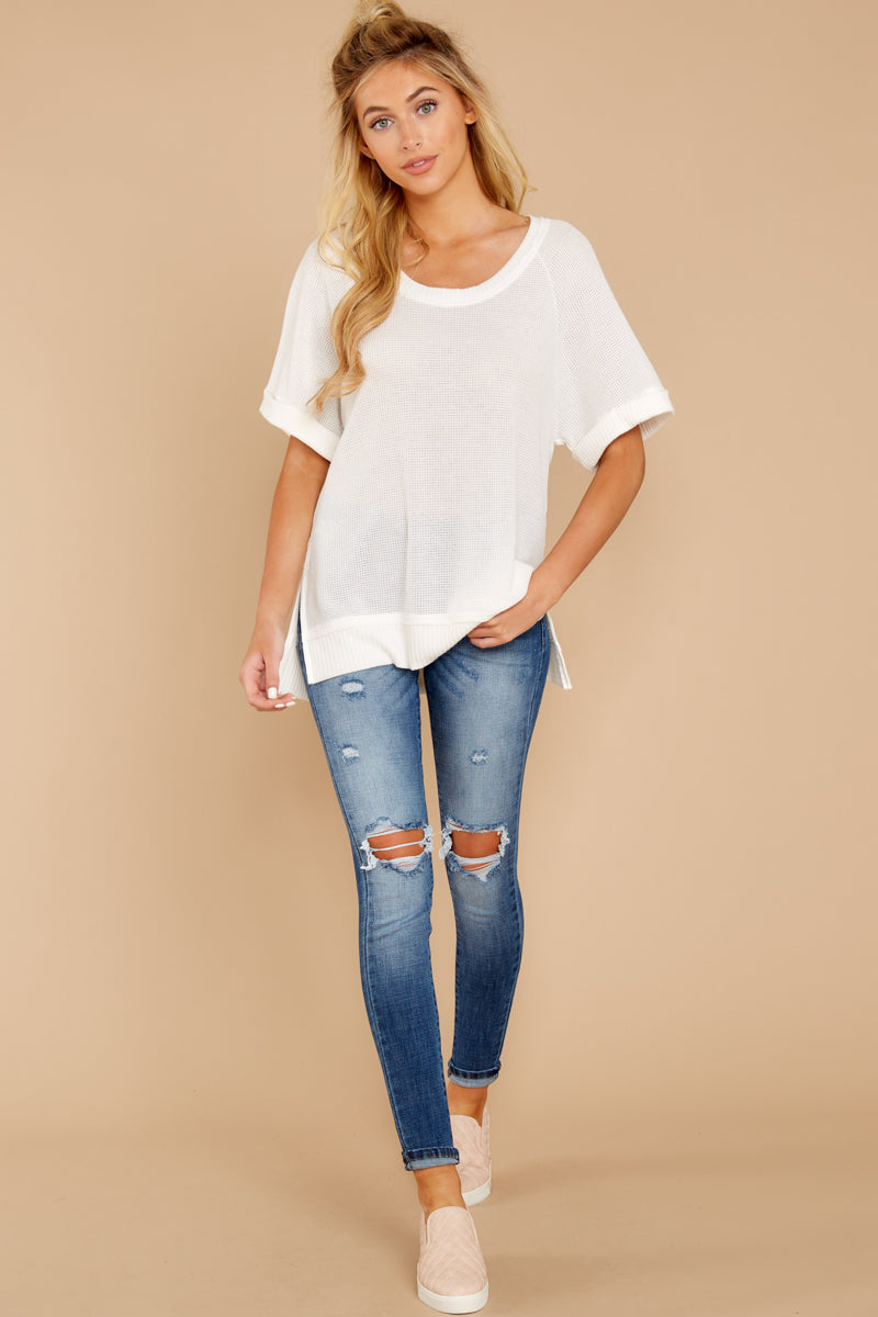 2 Dock On The Bay White Top at reddressboutique.com