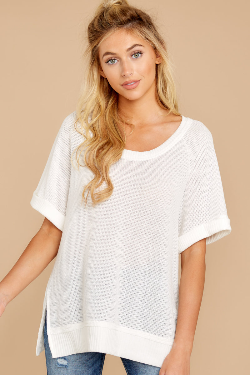 4 Dock On The Bay White Top at reddressboutique.com