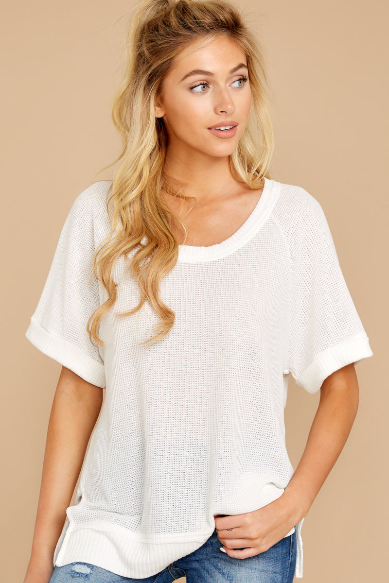 6 Dock On The Bay White Top at reddressboutique.com
