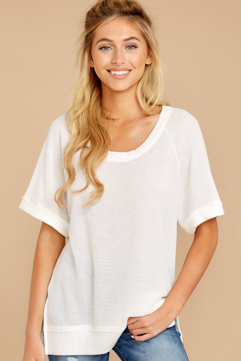 7 Dock On The Bay White Top at reddressboutique.com