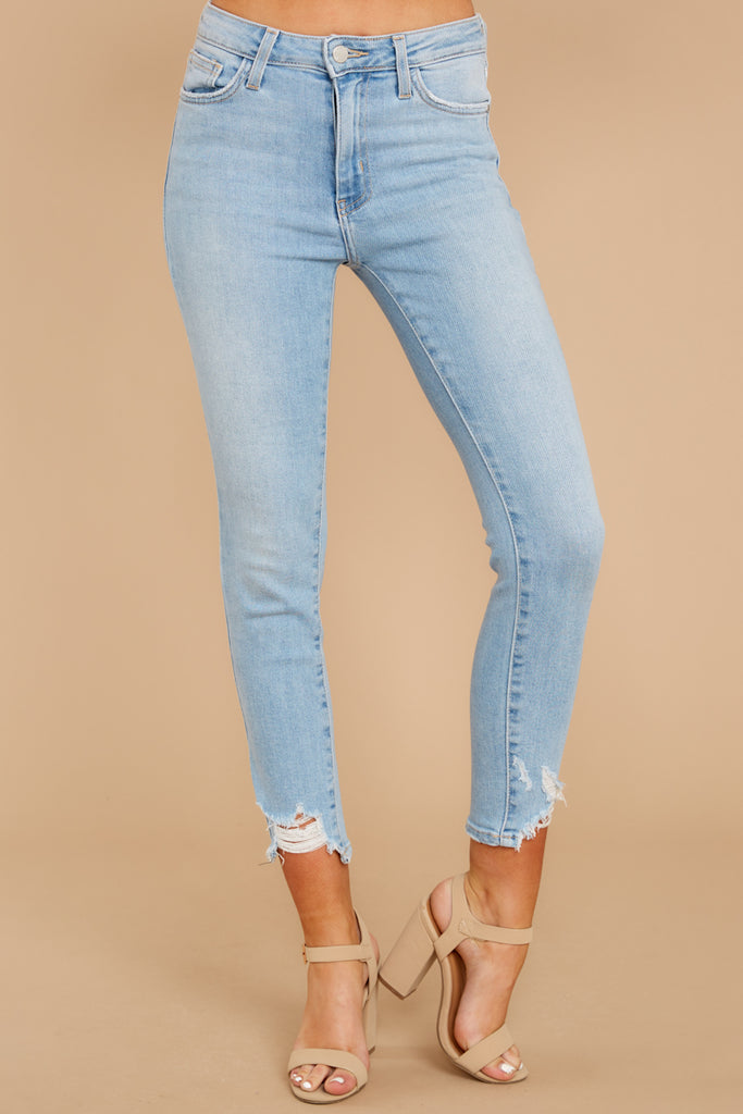 a9c00b95c6 Take This On Light Wash Distressed Skinny Jeans