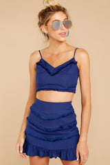 5 Not So Lonely Navy Two Piece Set at reddressboutique.com
