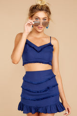 6 Not So Lonely Navy Two Piece Set at reddressboutique.com