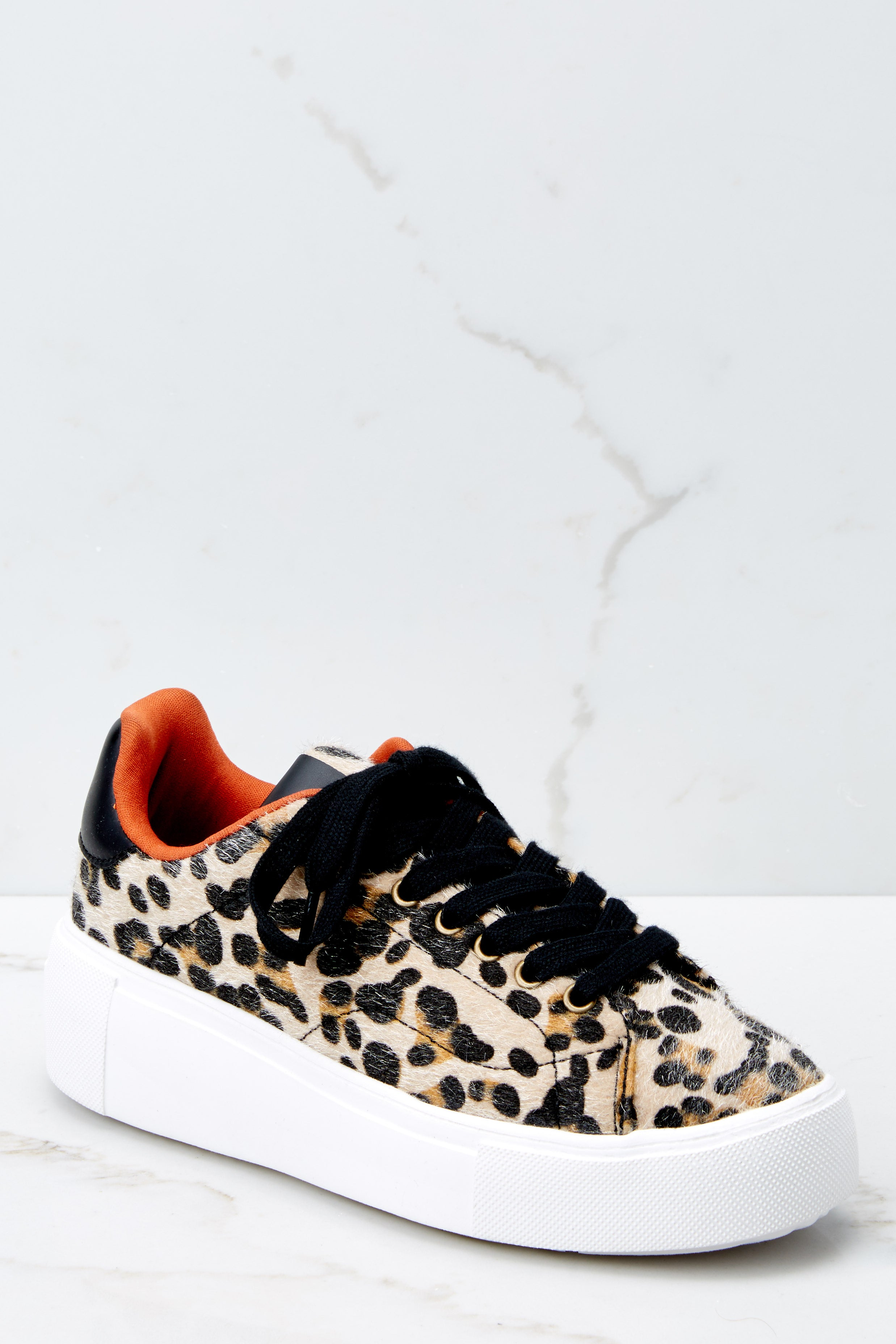 6bb9861f90fd Chic Leopard Print Sneakers - Thick Sole Sneakers - Shoes -  34.00 ...