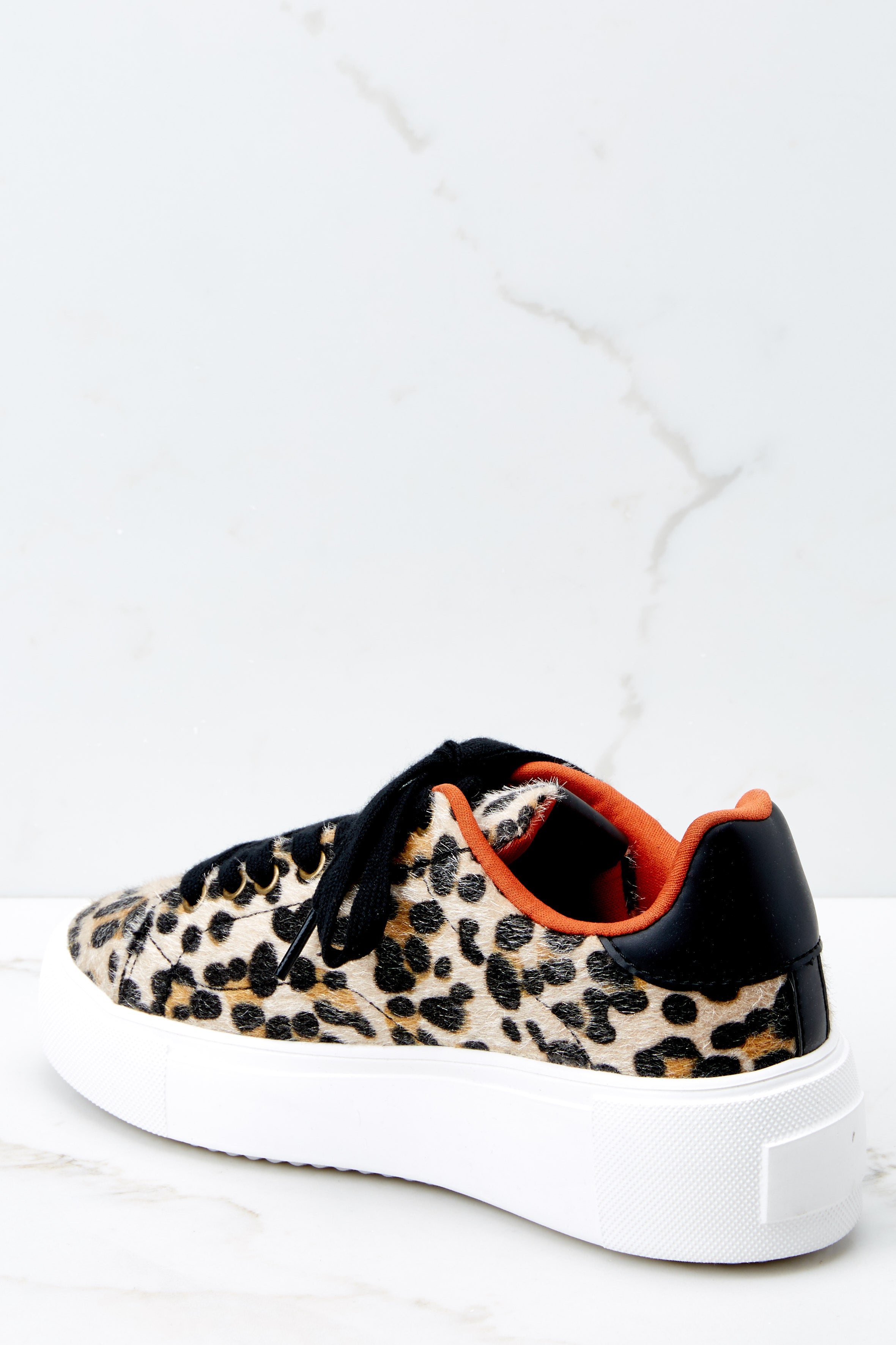 3 Race You There Leopard Print Sneakers at reddressboutique.com