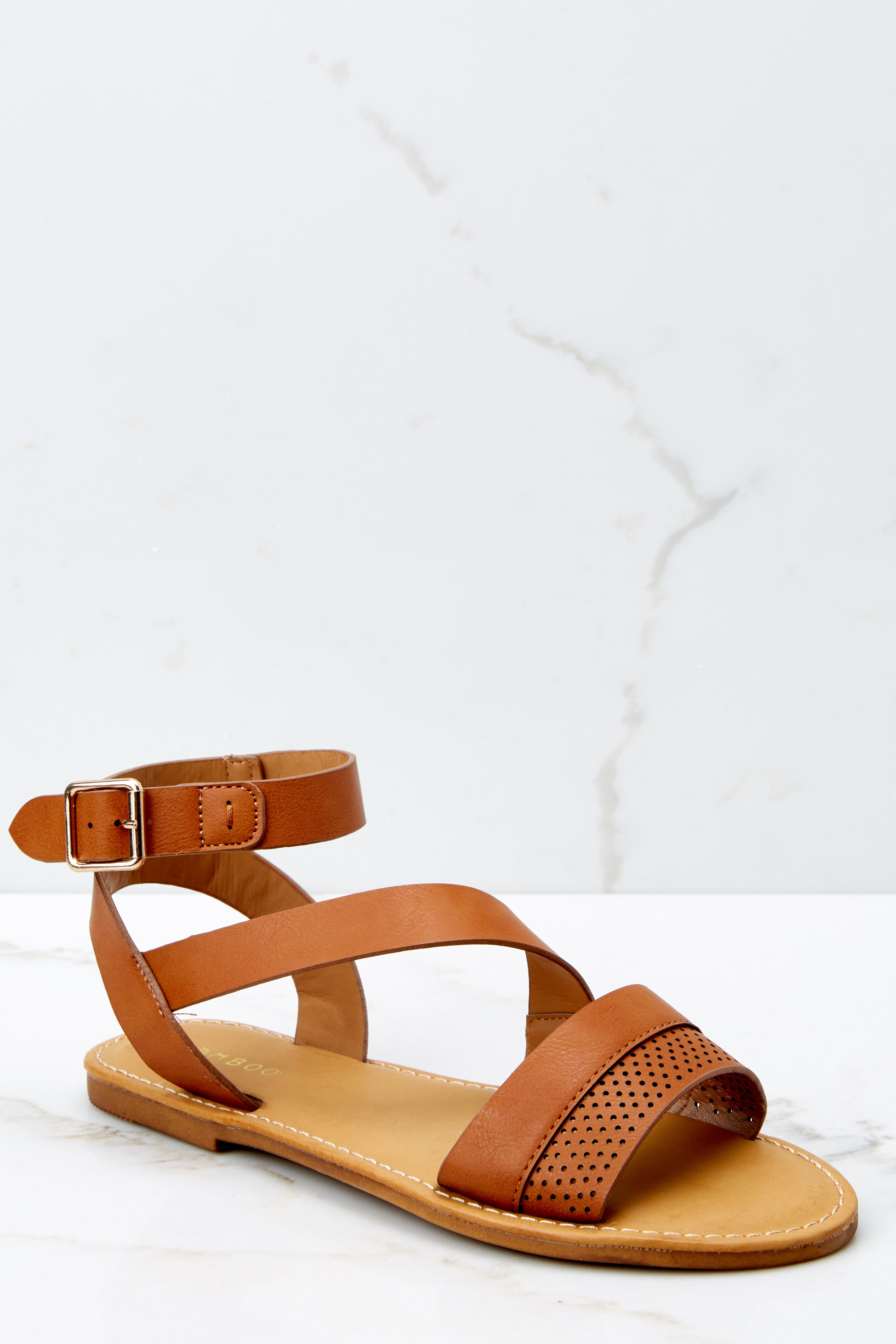 1 Step In The Right Direction Tan Sandals at reddressboutique.com