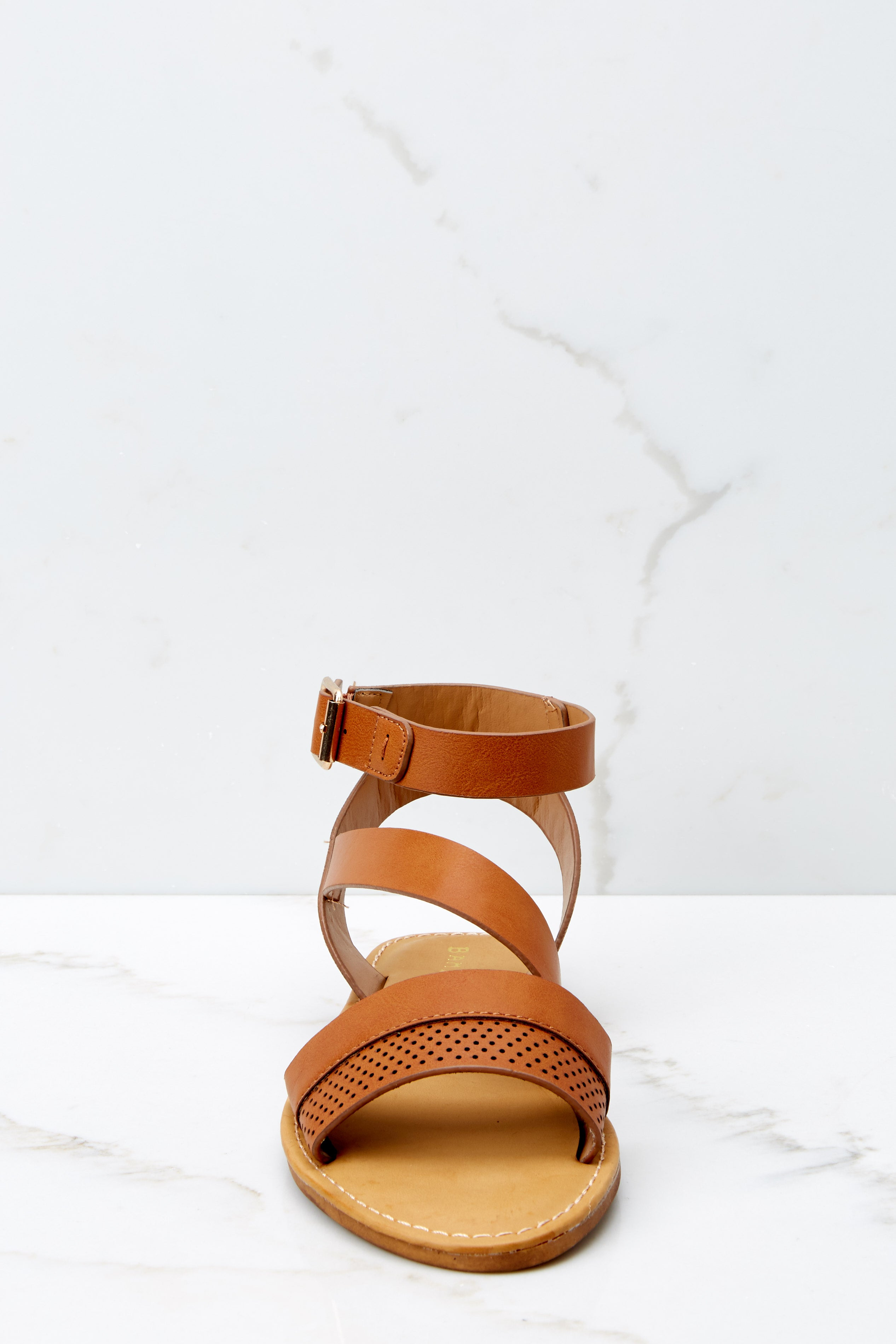 2 Step In The Right Direction Tan Sandals at reddressboutique.com
