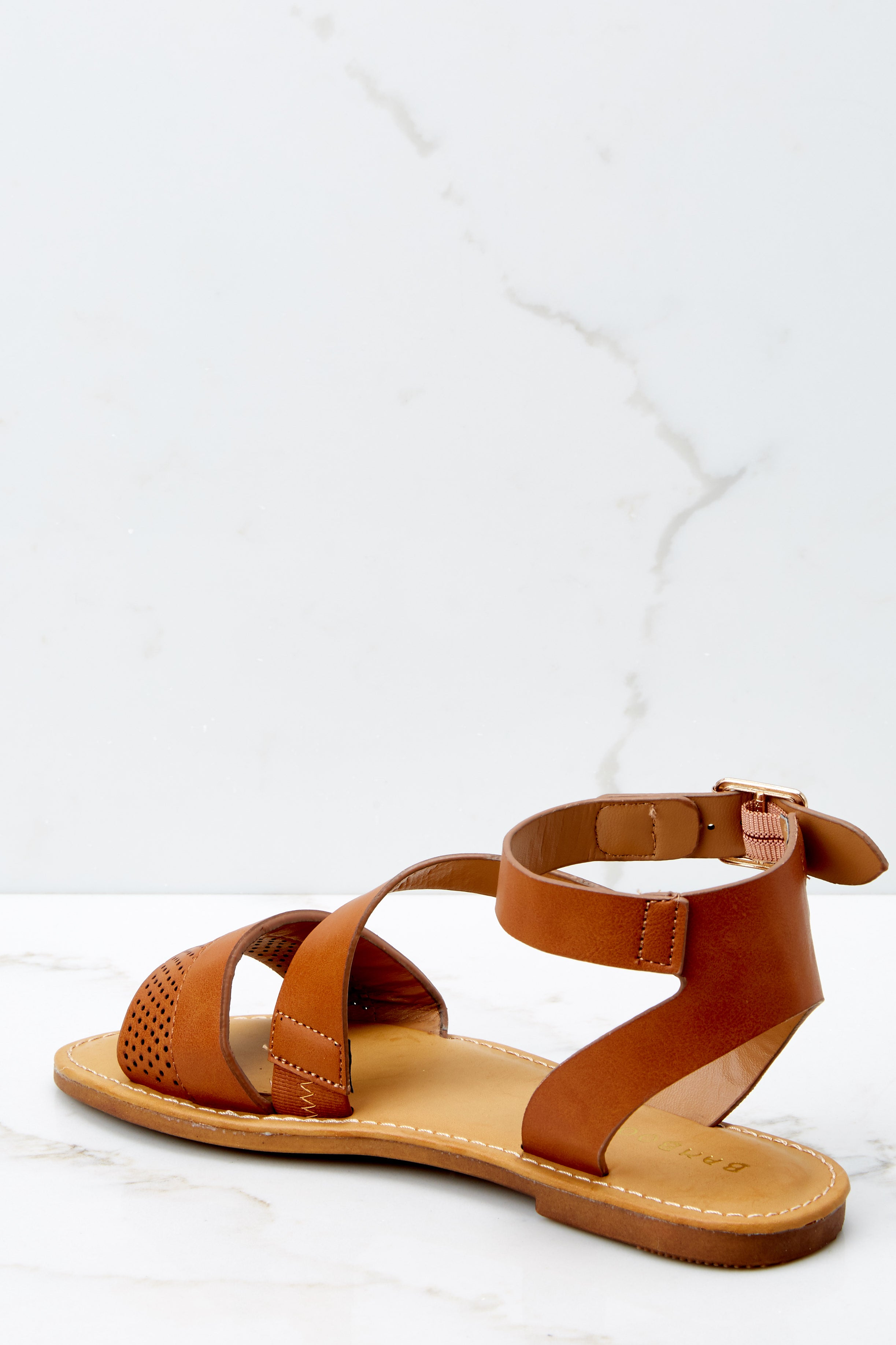 3 Step In The Right Direction Tan Sandals at reddressboutique.com