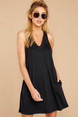4 The Black City Tank Dress at reddressboutique.com