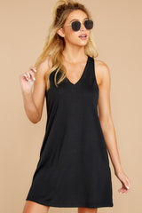 6 The Black City Tank Dress at reddressboutique.com