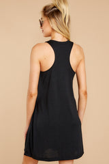 7 The Black City Tank Dress at reddressboutique.com