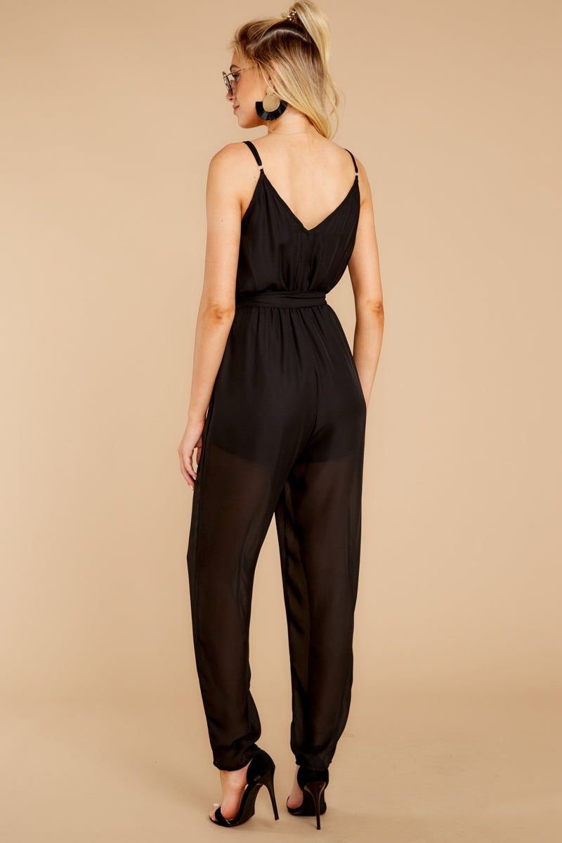 7 Jump Into Things Black Jumpsuit at reddressboutique.com