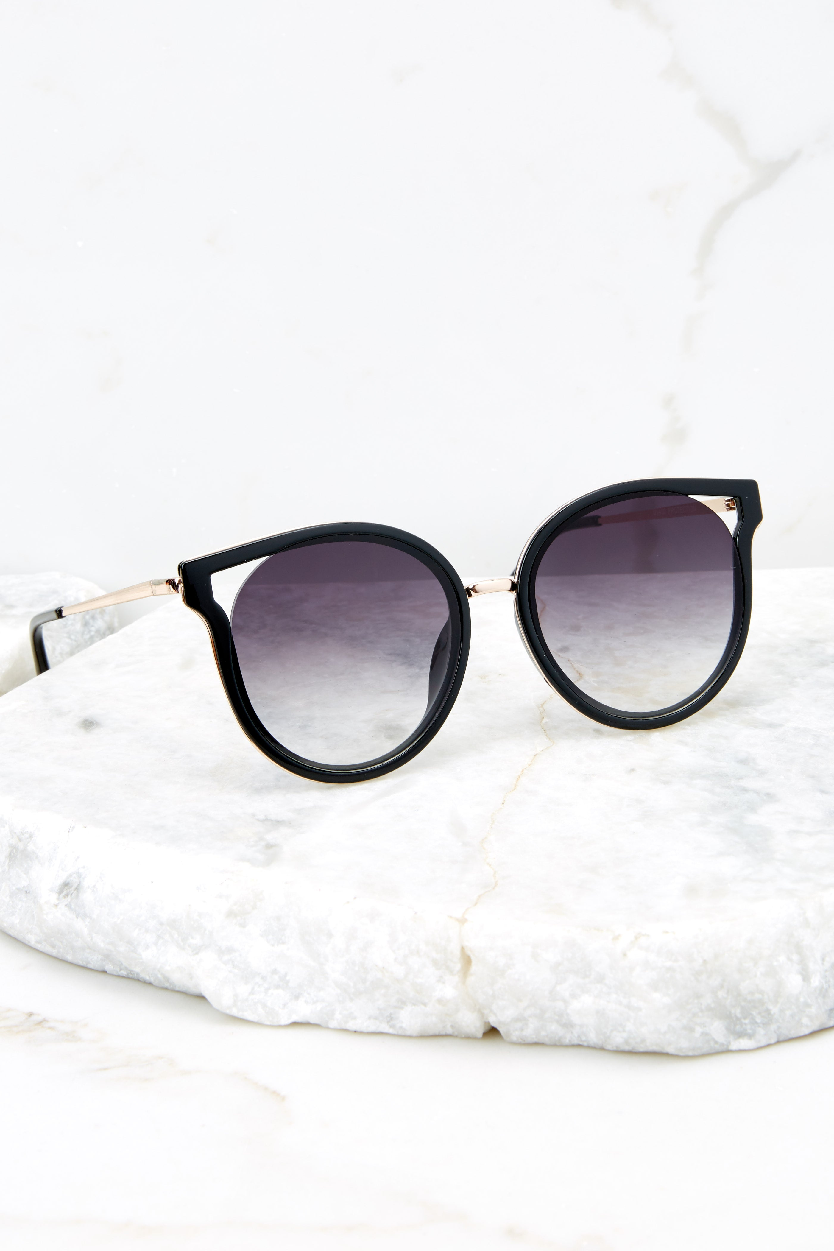 1 See Thunder Black Fade Black Sunglasses at reddressboutique.com