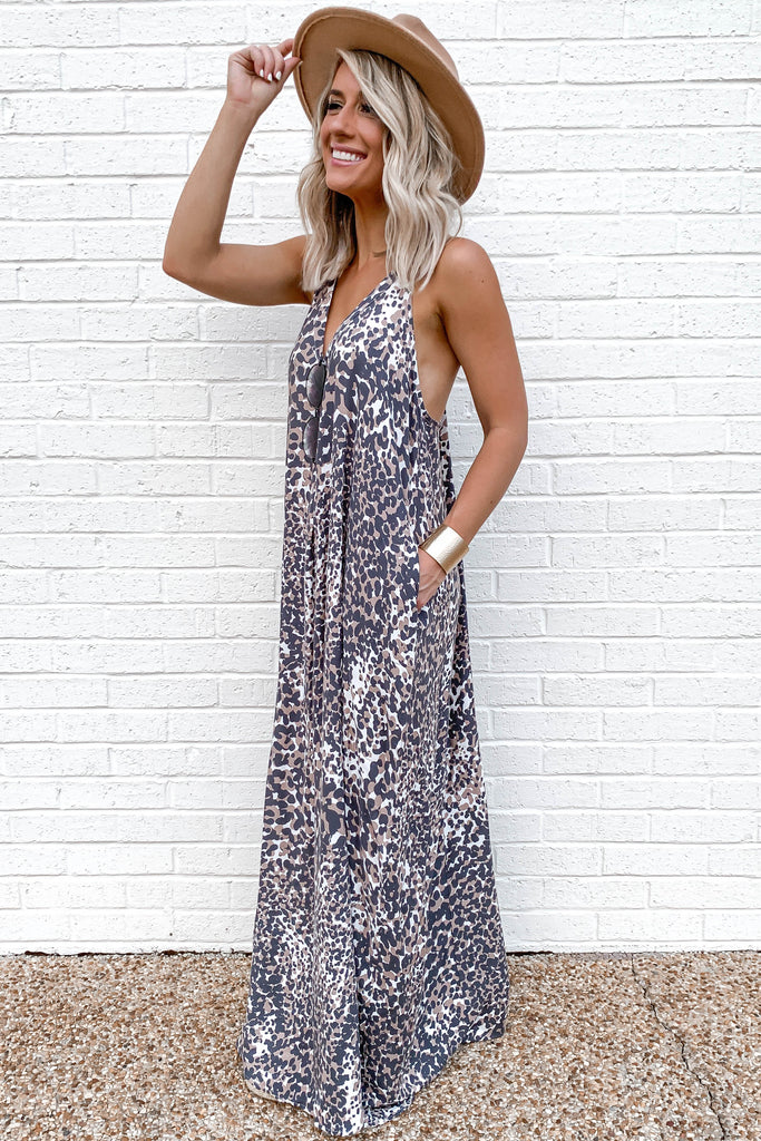 1 Something About It Maxi Dress In Tricky Intentions at reddressboutique.com