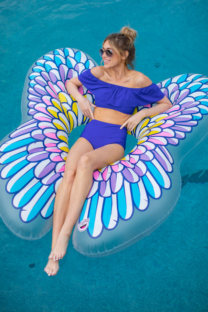 1 Giant Palm Tree Island Pool Float at reddressboutique.com