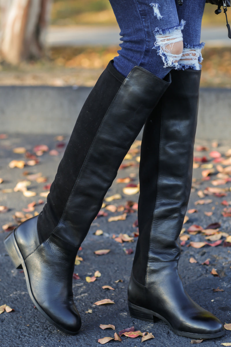 agreatvarietyofmodels authentic quality 100% quality Calypso Tall Boots In Black