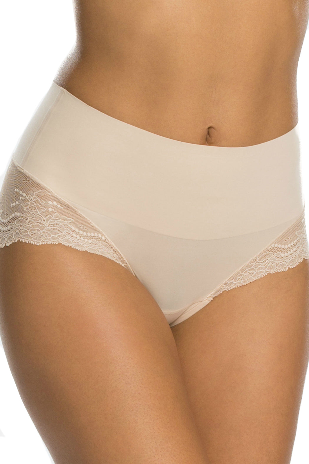 1 Undie-tectable Lace Hi-Hipster Panty at reddressboutique.com