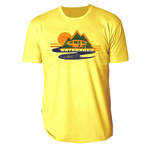 Yellow Watershed Mountains Tee