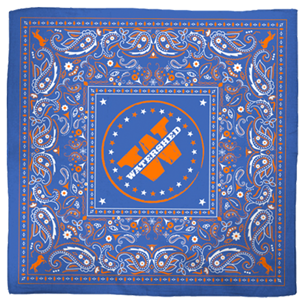 Blue Watershed Bandana