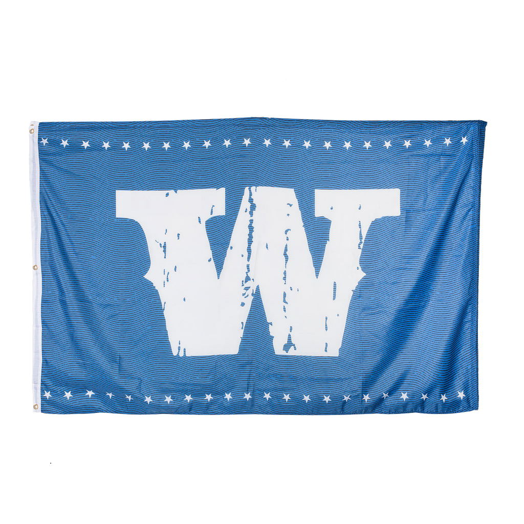 "Blue/White ""W"" Flag"