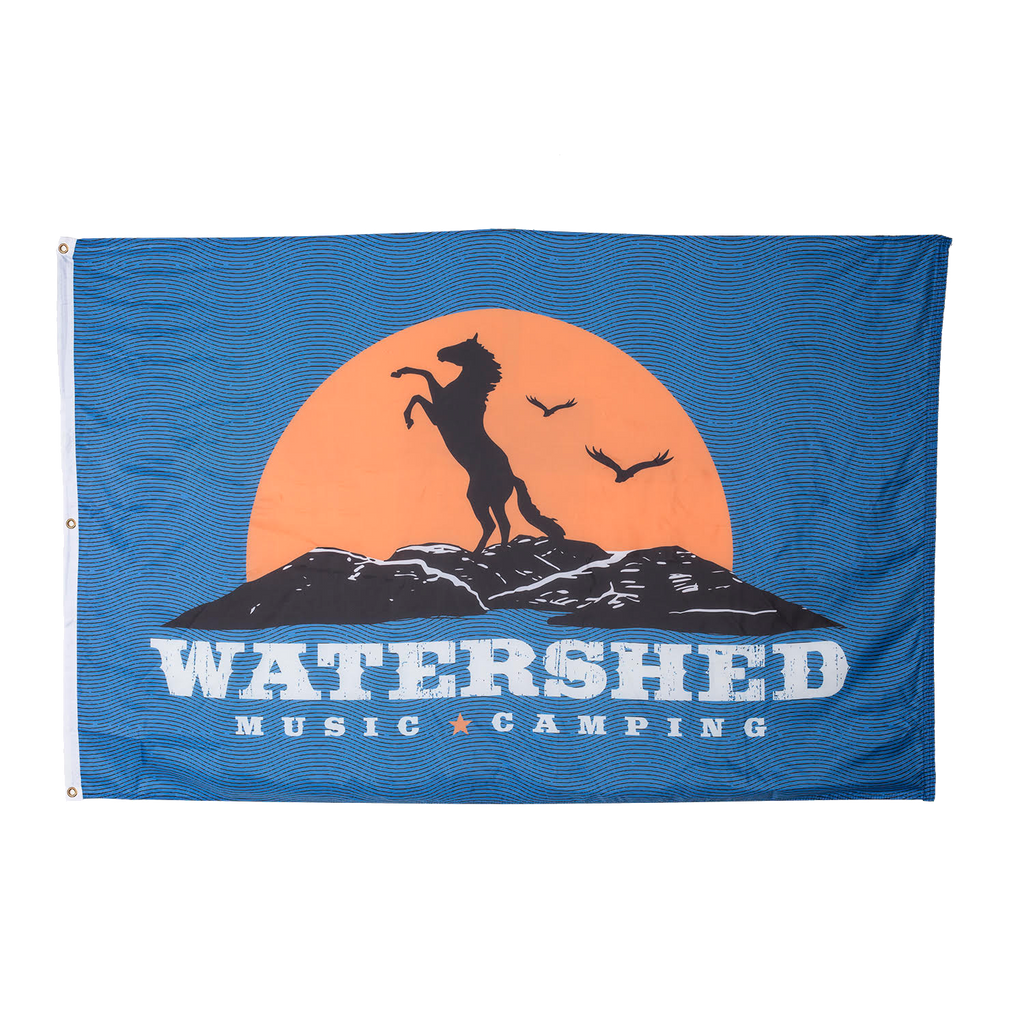 Watershed Music Camping Flag
