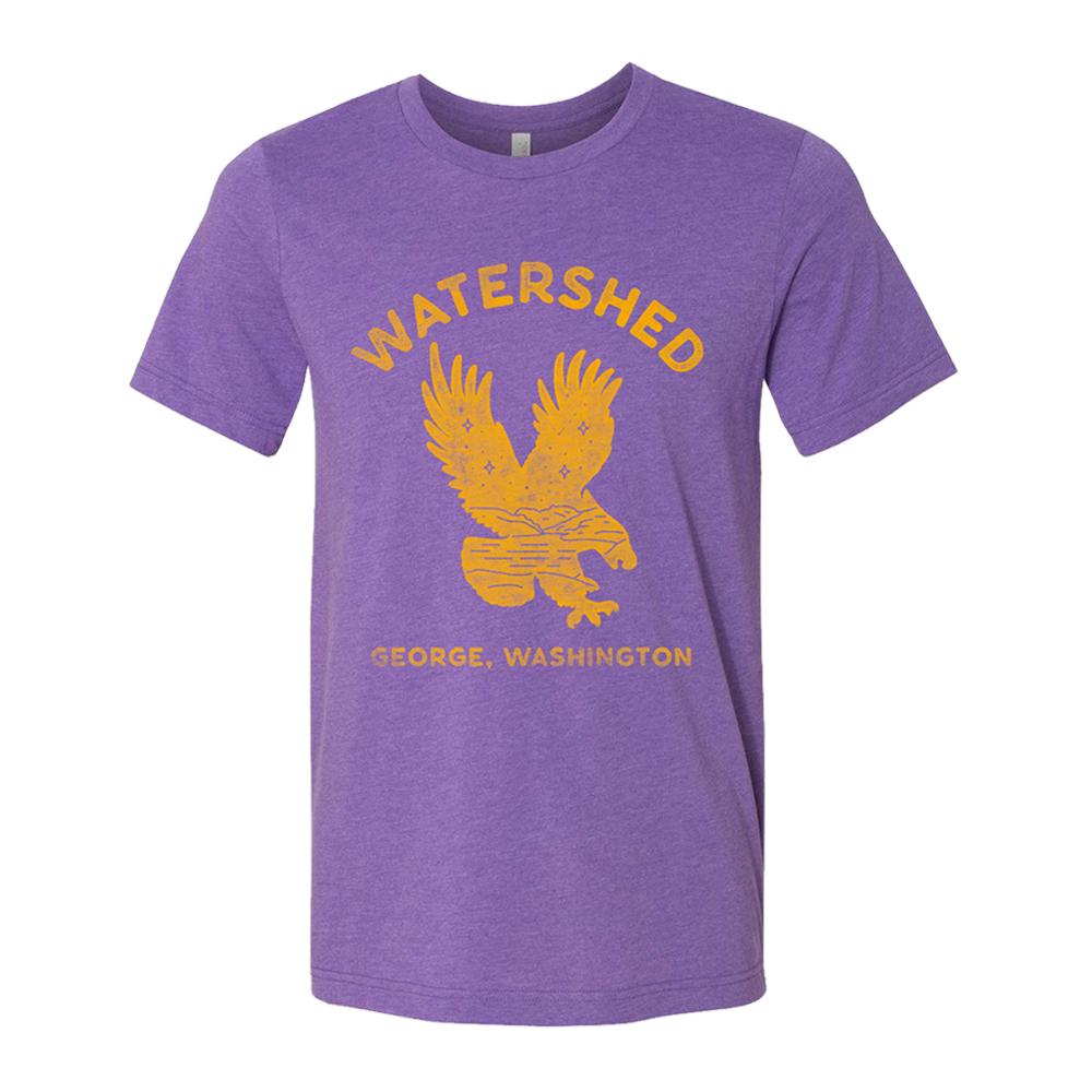 Purple Eagle Tee