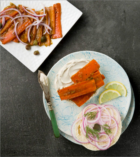 From the Kitchens of YamChops: Carrot Lox!