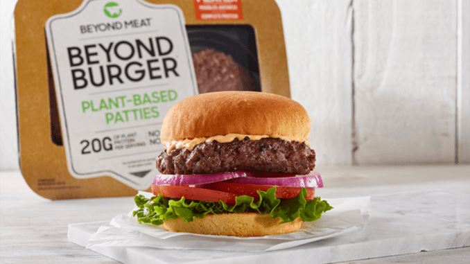 "BEYOND MEAT ""THE BEYOND BURGER"" 4 PACK (LIMIT OF 2 PER ORDER)"