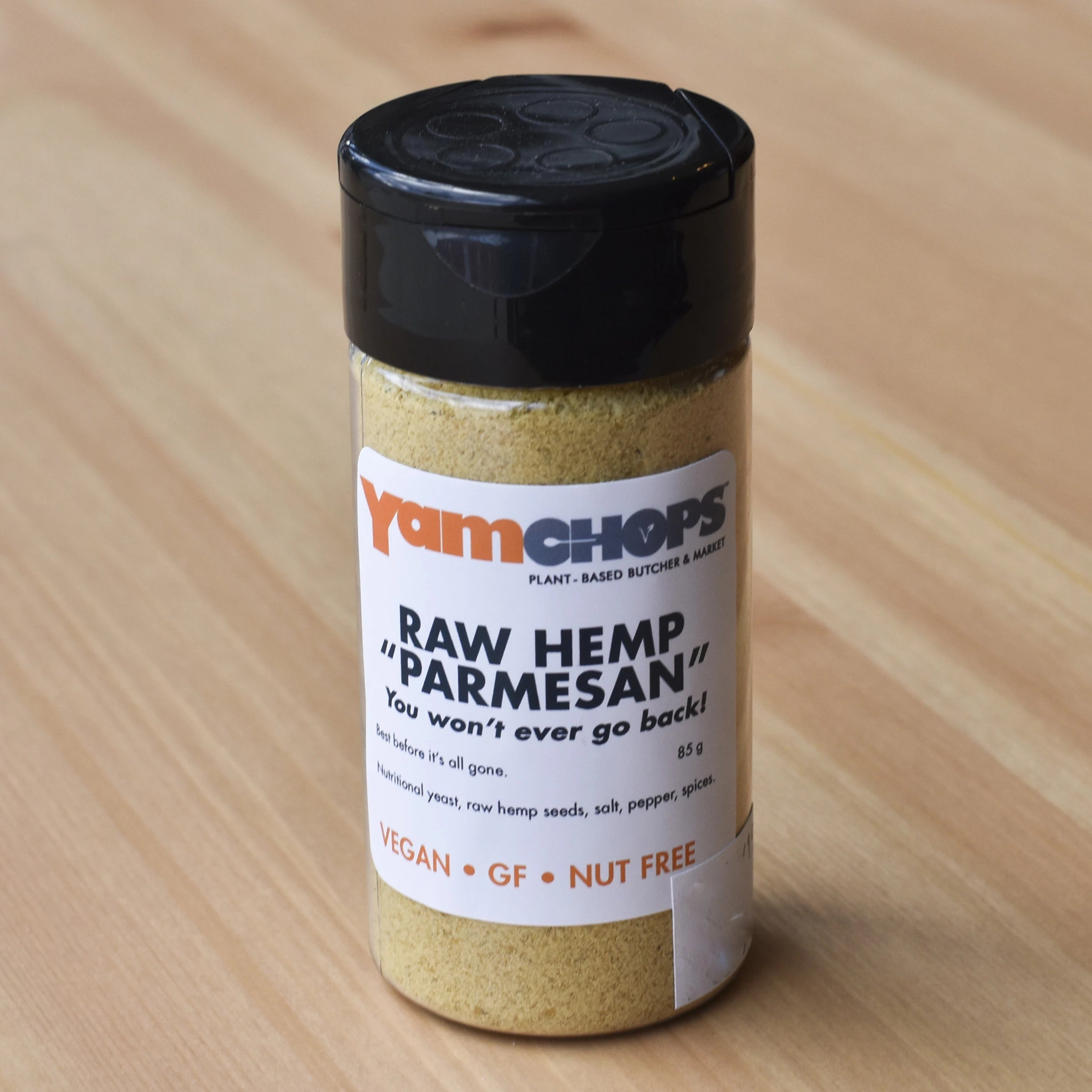 YAMCHOPS OWN RAW HEMP PARMESAN