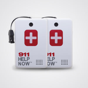 No Monthly Fee Emergency Alert Pendent 2-Pack Special - 911 Help Now - Help Now Alarm Company,  - Medical Alert
