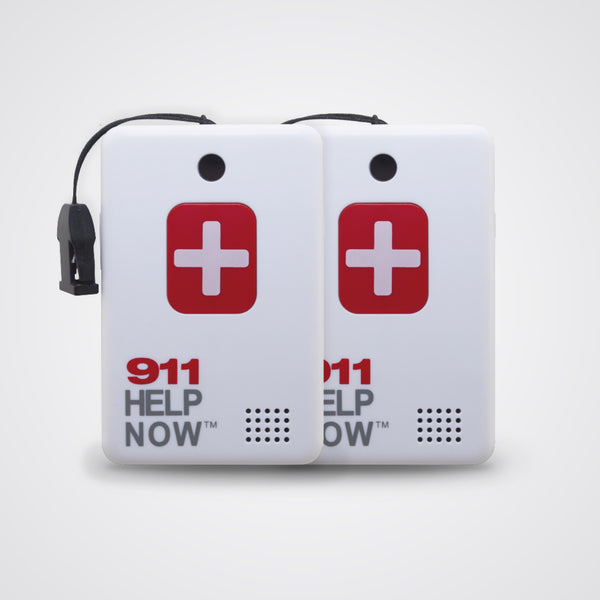 911 Help Now Emergency Pendent 2-Pack Special