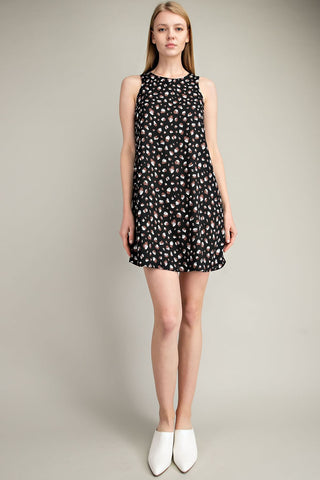 Black Leopard Print Dress - Creek & Co