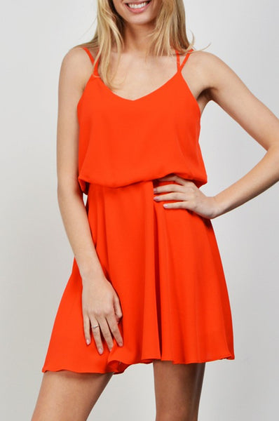 Tangerine Sun Dress - Creek & Co