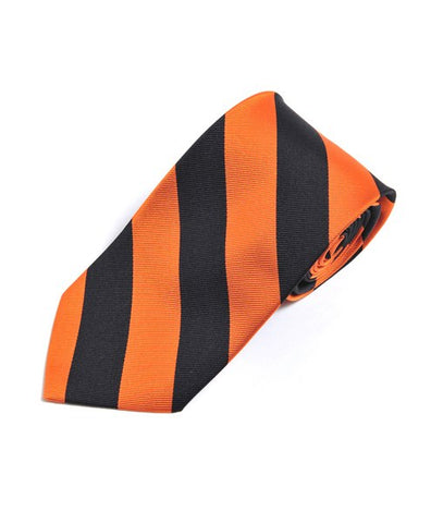 Men's Silk College Stripe Gameday Tie