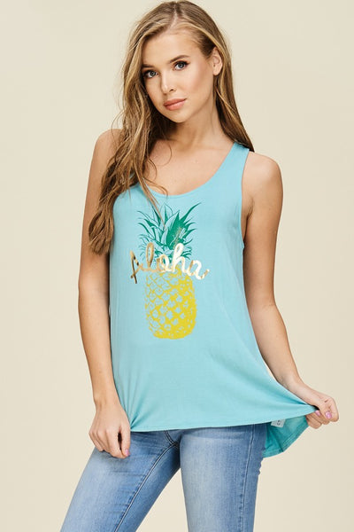 Down Under Pineapple Tank - Creek & Co