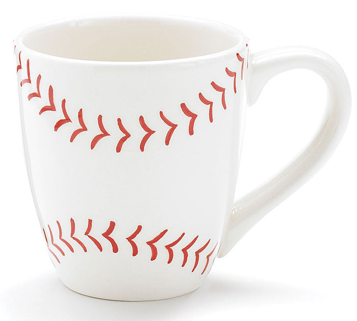 Hand Painted Baseball Mug - Creek & Co