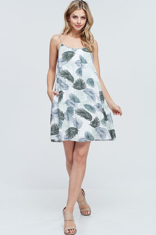 Tropical Twist Strap Dress - Creek & Co