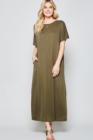 Olive Maxi Dress - Creek & Co