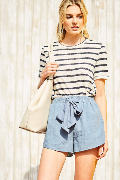 Denim Blue Shorts - Creek & Co