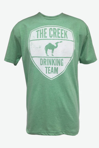 Green Creek Drinking Team Tee - Creek & Co