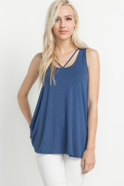 Strappy Front Tank - Creek & Co