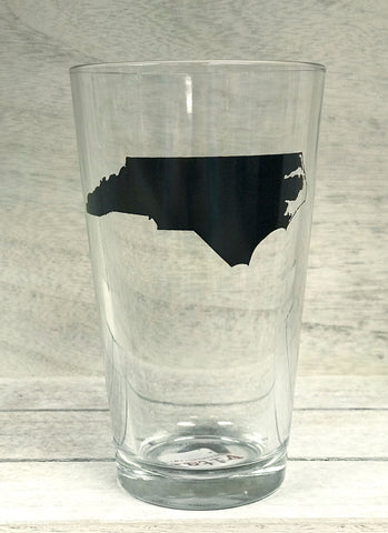 Black State Pint Glass - Creek & Co