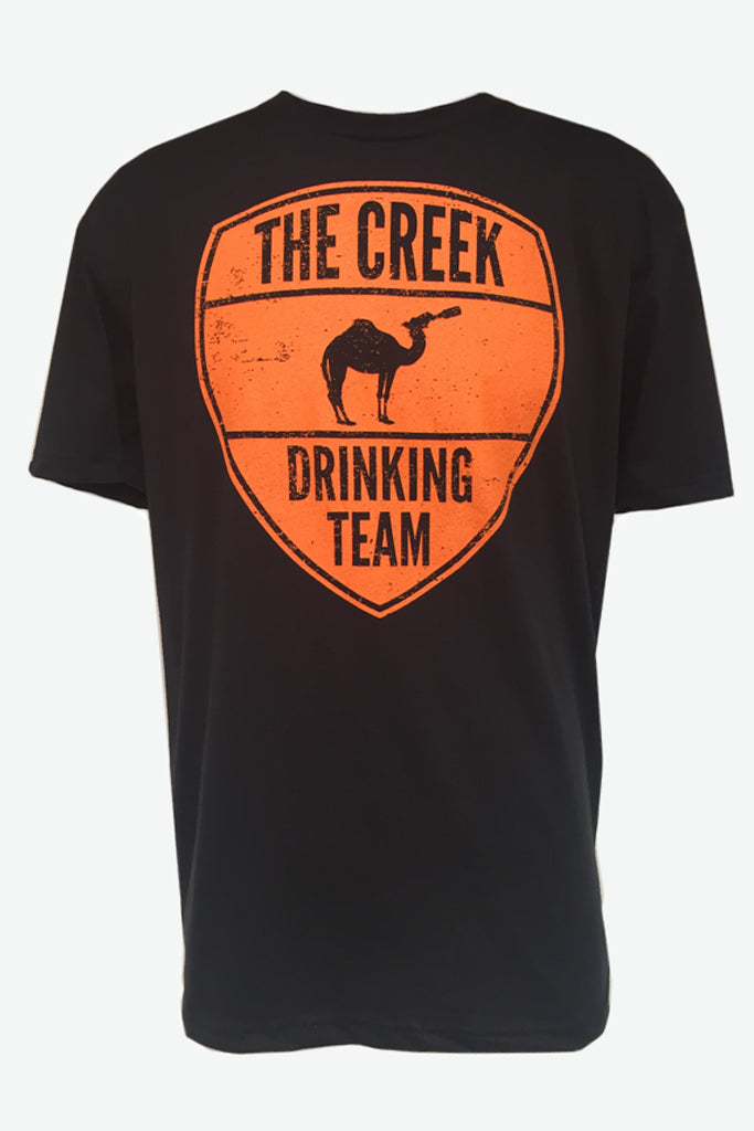 Black Creek Drinking Team T-shirt - Creek & Co