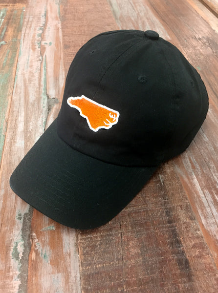 Black North Carolina Gameday Hat