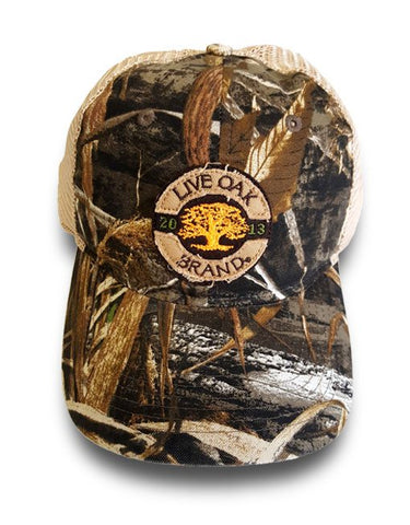 Live Oak Camo Trucker Hat
