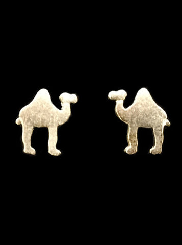 Dainty Camel Earrings