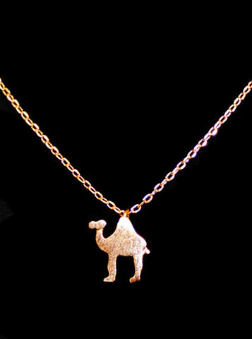 Dainty Camel Necklace
