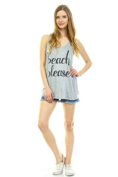Beach Please Tank - Creek & Co